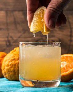 Shasta Gold Tangerine Margaritas